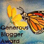 Generous Blogger Award